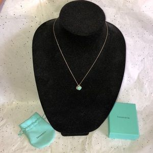 Return to Tiffany Mini Double Heart Necklace